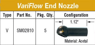 SwivelMax VariFlow End Nozzle V Online Ordering