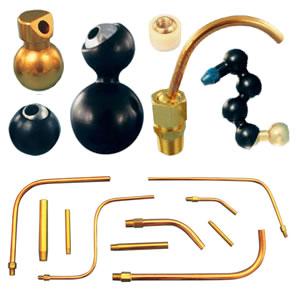 Coolant Nozzles, Extension Tubes & Accessories