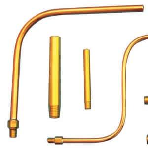 Extension Tubes For Coolant Nozzles