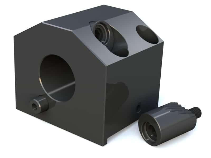 1 Pieces Takisawa Tool Block Turret Type for CNC Lathe Free Shipping