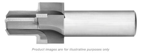 BSPP THREAD (ISO1179) PORT TOOL CARBIDE TIPPED (1-1/2 BSPP) 4.88 OAL ALTiN COATED
