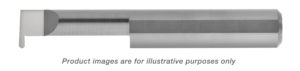 LEFT HAND FULL RADIUS GROOVE TOOL SOLID CARBIDE ALTiN COATED .250 X 1/2 .0305 GROOVE 1/4 SHANK .060 OFFSET 2-1/2 OAL