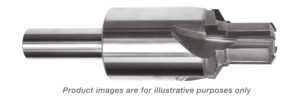 REAMER PILOT PORT TOOL CARBIDE TIPPED 1 5/8-12 THREAD (1-1/4 TUBE) 5.800 OAL (AS5202) ALTiN COATED
